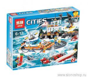 Конструктор Штаб Береговой Охраны Lepin 02081 City 60167