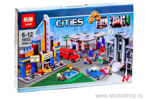 Конструктор Lepin Cities 02022 План города