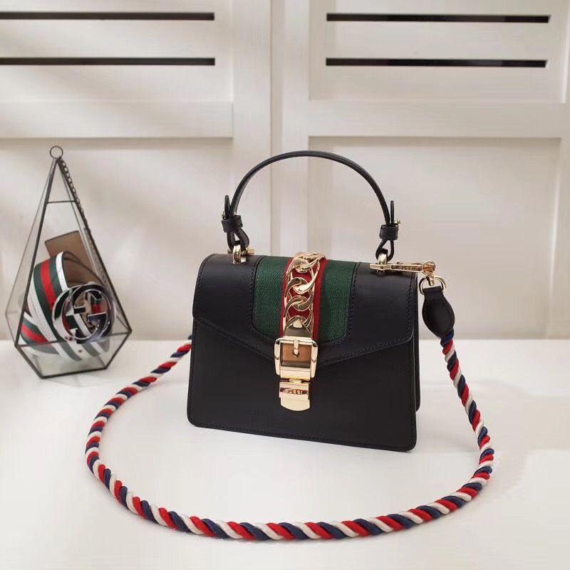 G Sylvie Leather mini bag