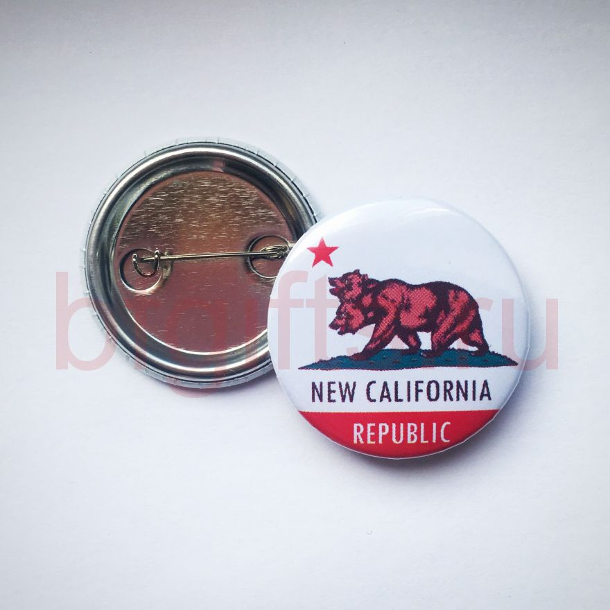 Значок New California Republic Fallout