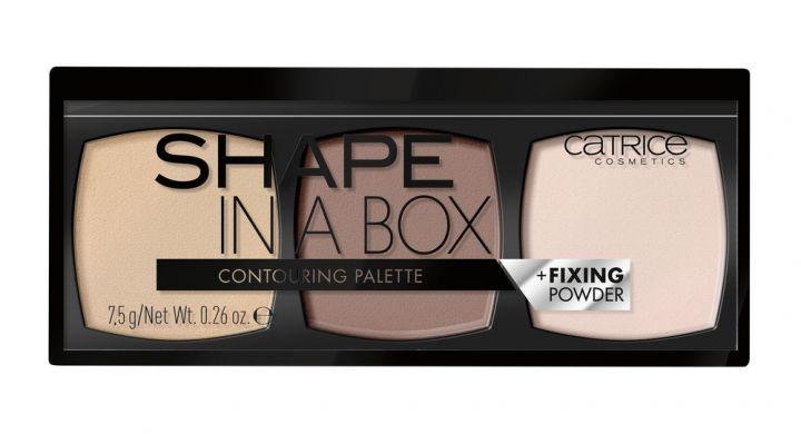 CATRICE Палетка для контурирования Shape In a Box Contouring Palette, 020 Medium