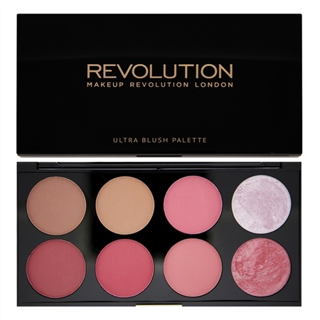 Revolution Makeup Палетка румян Ultra Blush Palette, Sugar and Spice