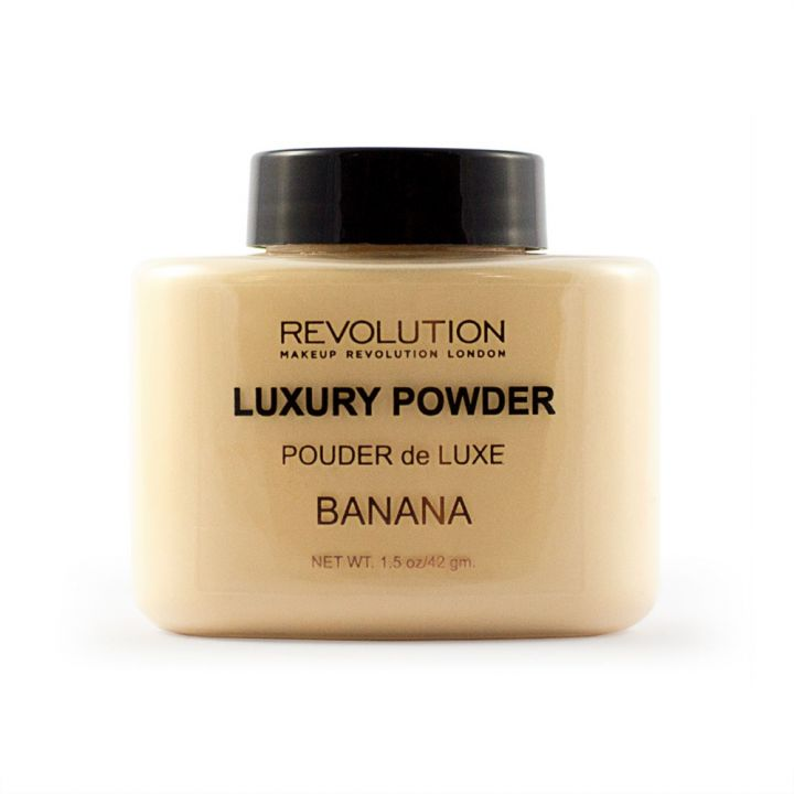 Revolution Makeup Рассыпчатая пудра Luxury Banana Powder