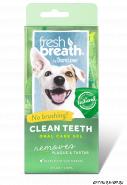 Tropiclean Fresh Breath Clean Teeth Gel (4 fl oz) 118 мл. + бонус за 2$ косточка для чистки зубов