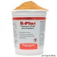 K-Plus Гранулы с цитратом калия и клюквой для собак и кошек, 300 г