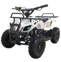 MOTAX ATV Mini Grizlik X-16 бензиновый ручной стартер белый 1