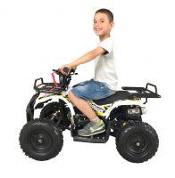 MOTAX ATV Mini Grizlik X-16 бензиновый ручной стартер белый посадка 2
