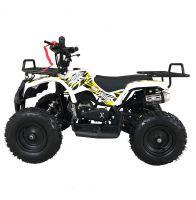 MOTAX ATV Mini Grizlik X-16 бензиновый ручной стартер белый 2