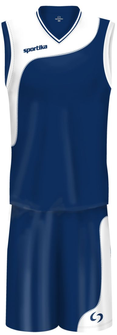 Форма баскетбольная женская Sportika Detroit Set