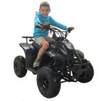 Mowgli S07B  110 сс Квадроцикл бензиновый черный посадка вид 1