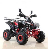 Квадроцикл подростковый бензиновый MOTAX ATV Raptor Lux черно-красный вид 6
