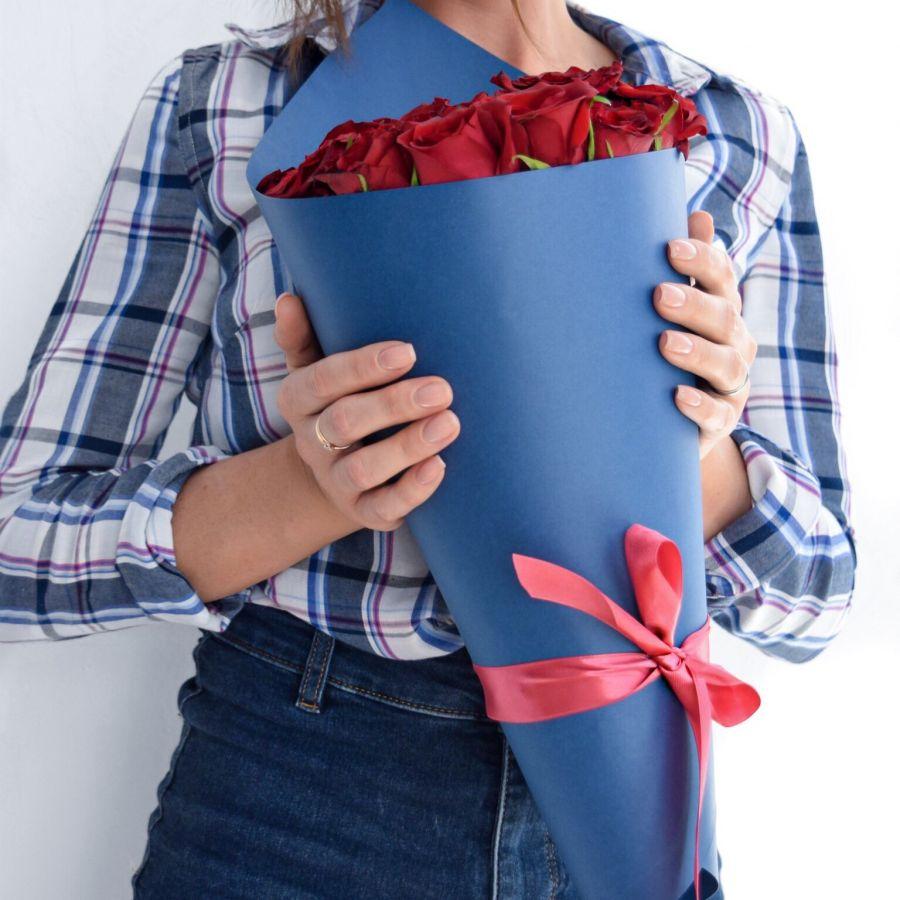 Букет из красных роз (40 см)