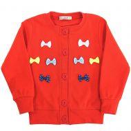 Кардиган для девочек 3-6 лет Bonito красный