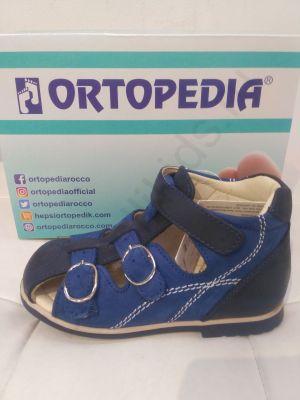 410 Ortopedia Сандалии (21-25) в синем цвете