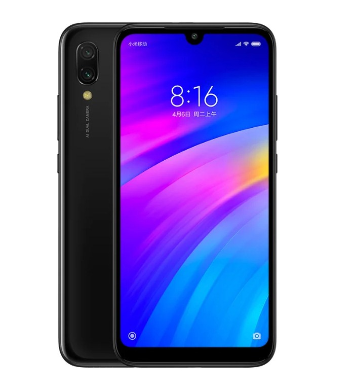 Смартфон Xiaomi Redmi 7 3/32GB Black