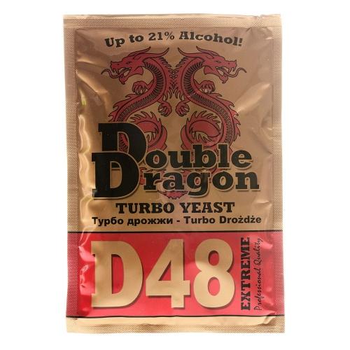 Турбо-дрожжи DoubleDragon D48, 132 гр