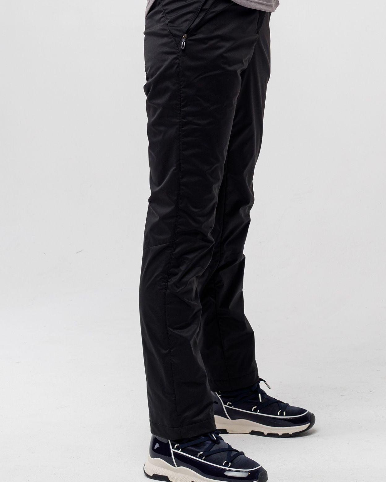 Флисовые брюки черный HEIDEN вид3