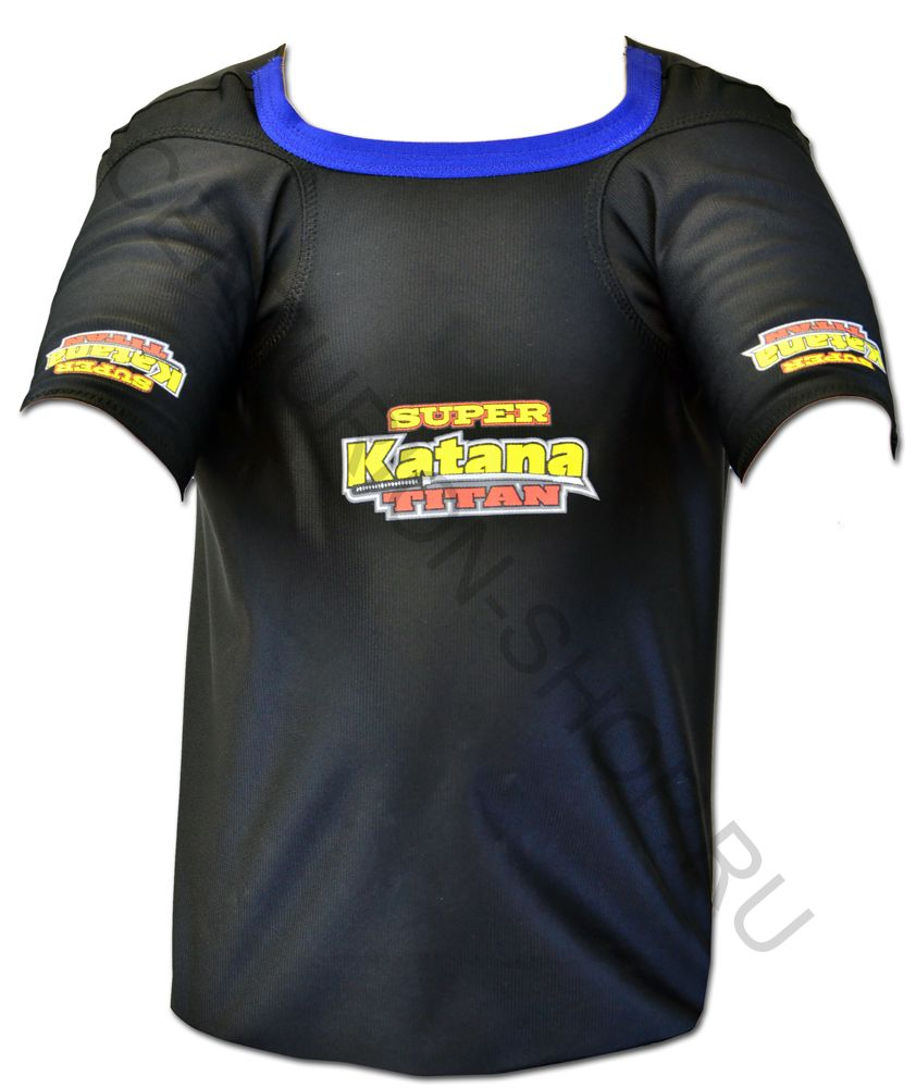 Майка для жима SUPER KATANA Shirt with the LOW CUT collar construction A/S (Angled Sleeve) Xtreme