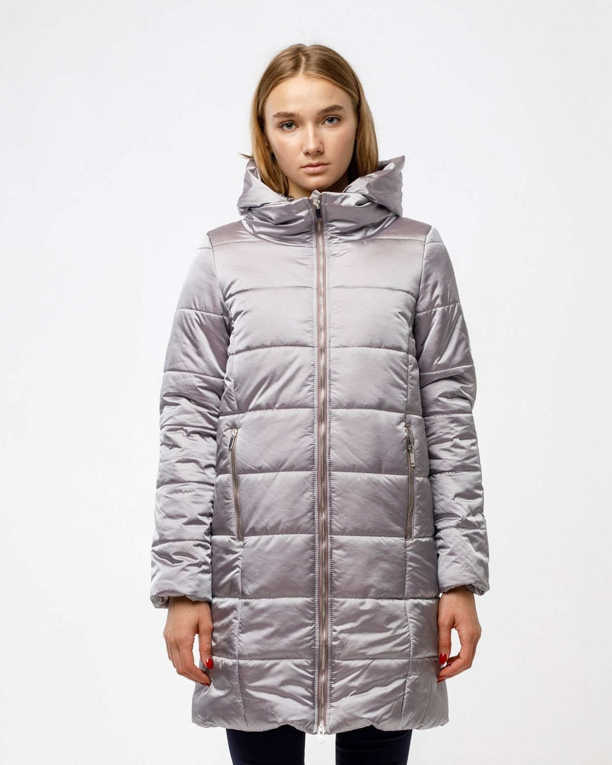 Пальто женское HEIDEN цвет тауп вид3