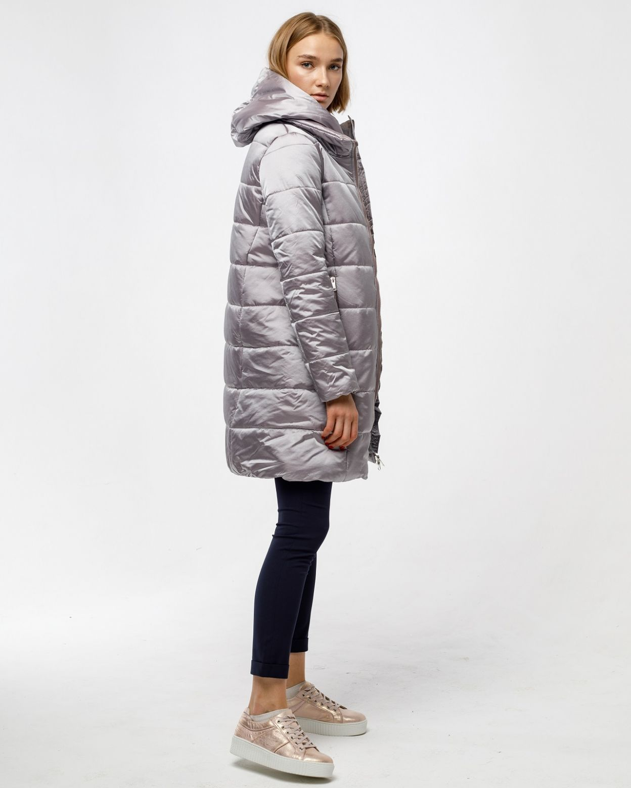 Пальто женское HEIDEN цвет тауп вид4