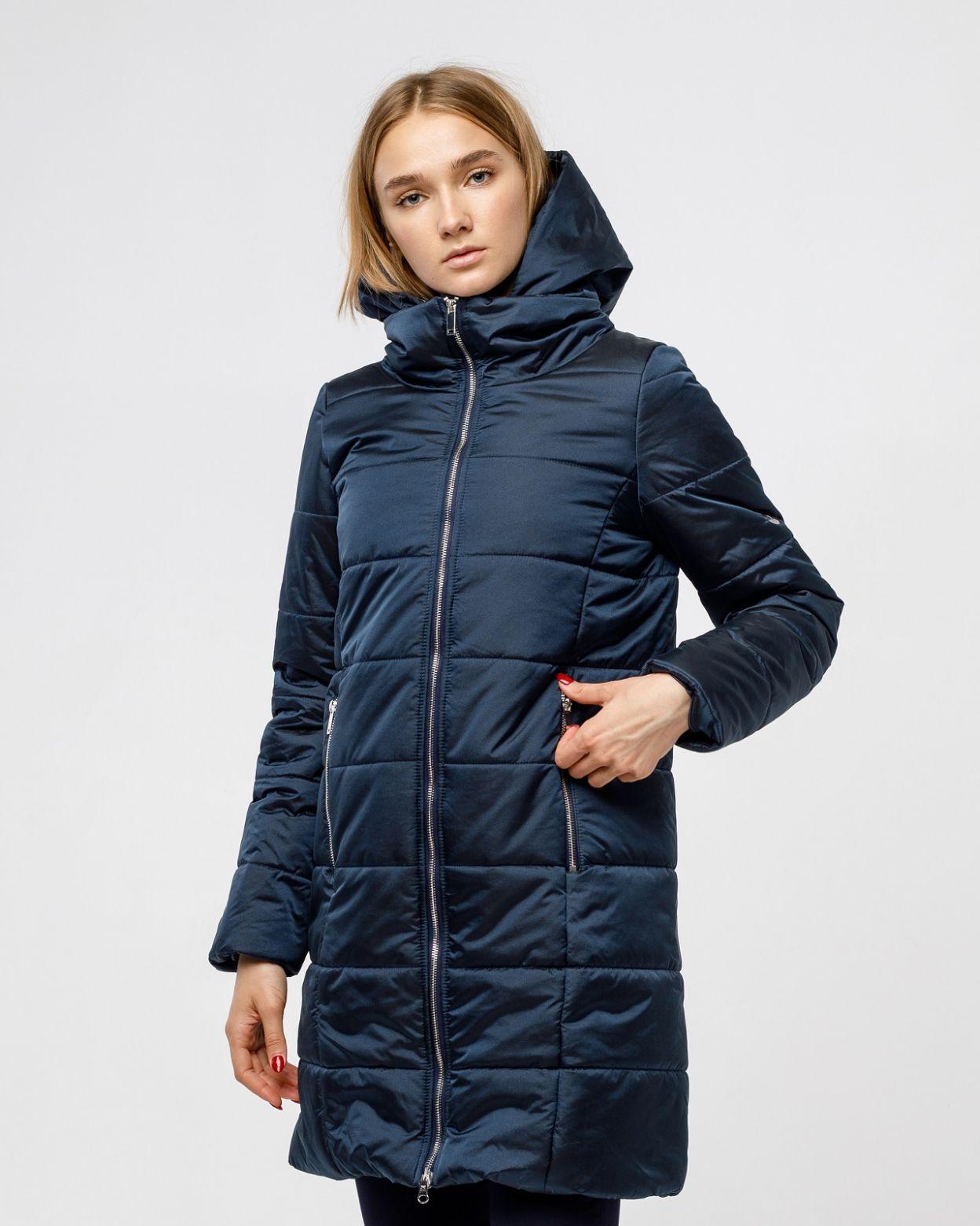 Пальто женское HEIDEN цвет синий вид2