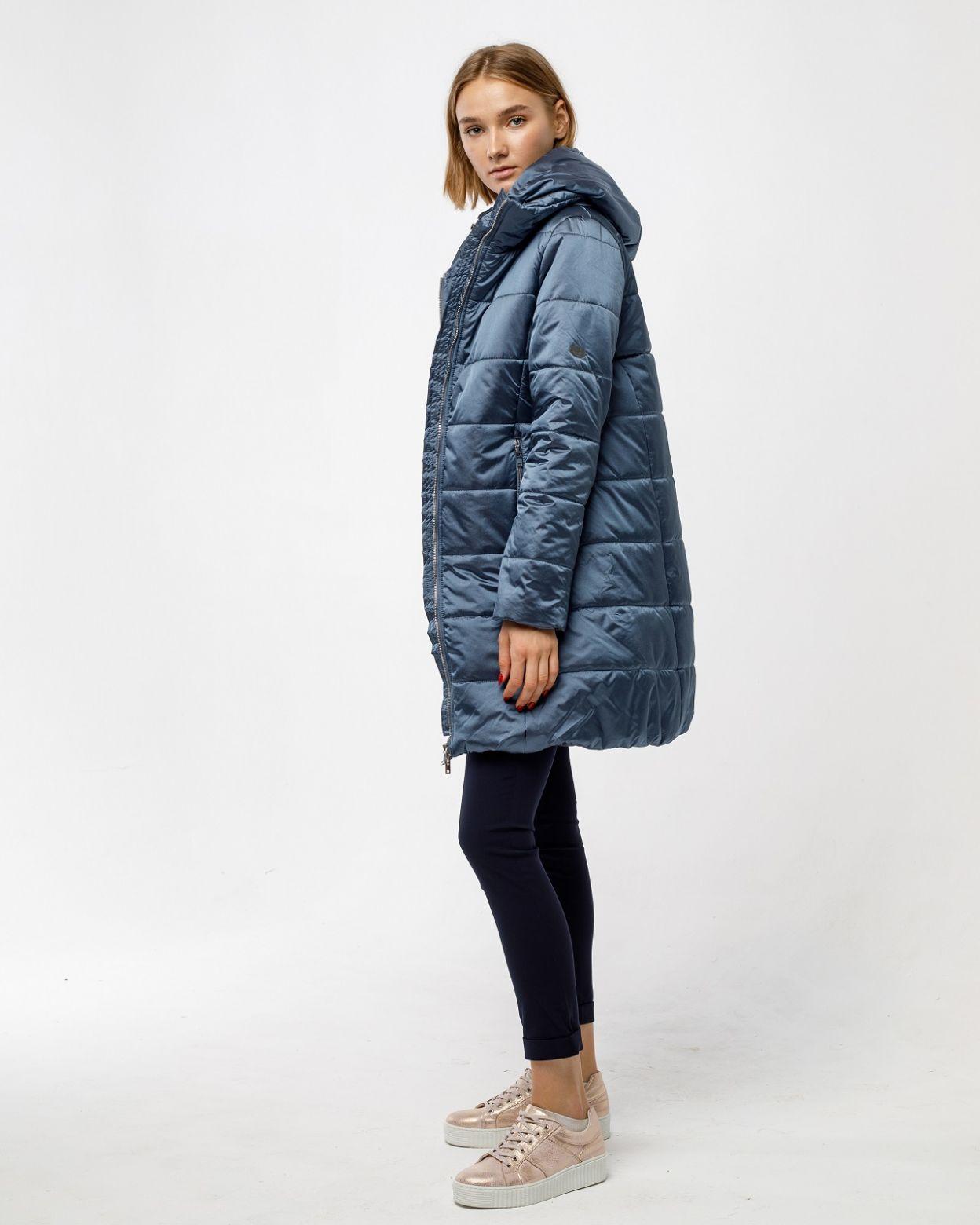 Пальто женское HEIDEN цвет серо-синий вид4
