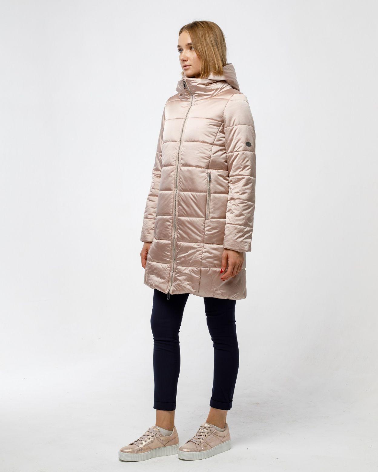 Пальто женское HEIDEN цвет dusty rose вид3