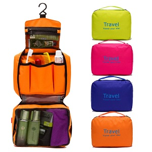 Дорожная Косметичка Travel Your Life, цвет оранжевый