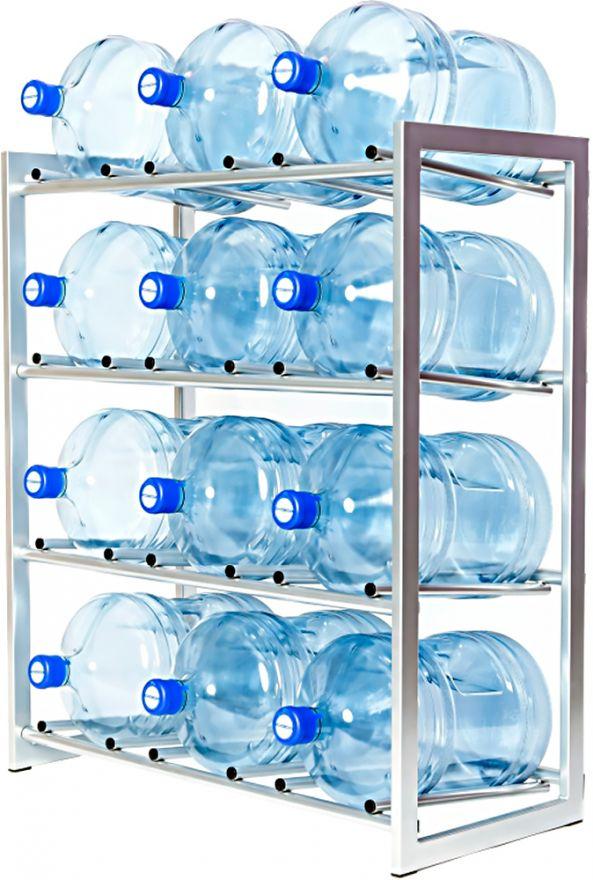 Стеллаж - подставка для 12 бутылей