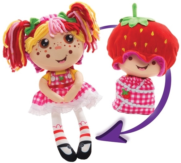 Девчушка Вывернушка Ксюшка плюшевая кукла Flip Zee Girls 1 Toy