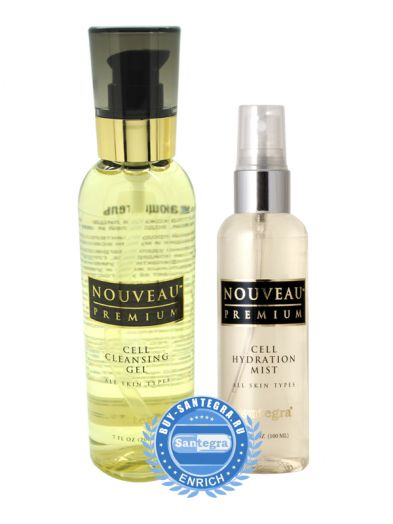 Набор средств для бережного очищения и интенсивного увлажнения кожи