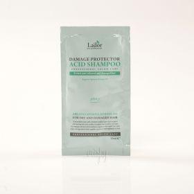 Lador Damaged Protector Acid Shampoo 10ml - безсульфатный шампунь для волос с аргановым маслом