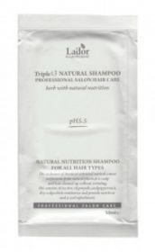 Lador Triplex Natural Shampoo 10ml - шампунь с натуральными ингредиентами