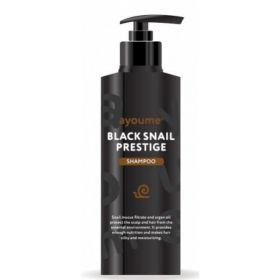 AYOUME Black Snail Prestige Shampoo 240ml - Шампунь для волос с муцином улитки