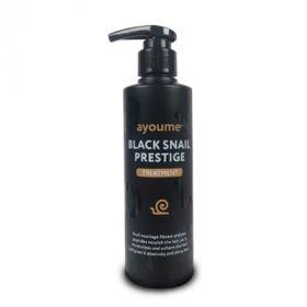 AYOUME Black Snail Prestige Treatment 240ml - Бальзам для волос с муцином улитки