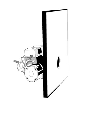 Изоляция передней двери котла EnergyLogic