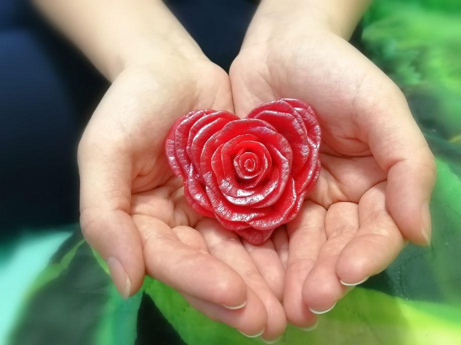 ~Роза сердце~