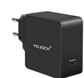 Зарядное устройство YOJOCK USB-C 60W PD для нотбуков Xiaomi/Apple