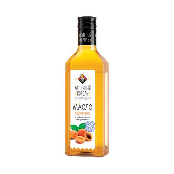 Масло абрикосовое холодного отжима Масляный Король - 250 мл нерафинированное