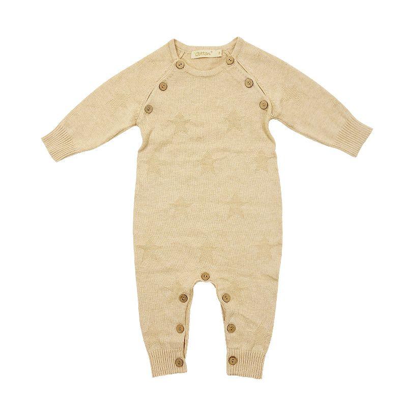 Комбинезон детский вязанный из органического хлопка K18C233AT703