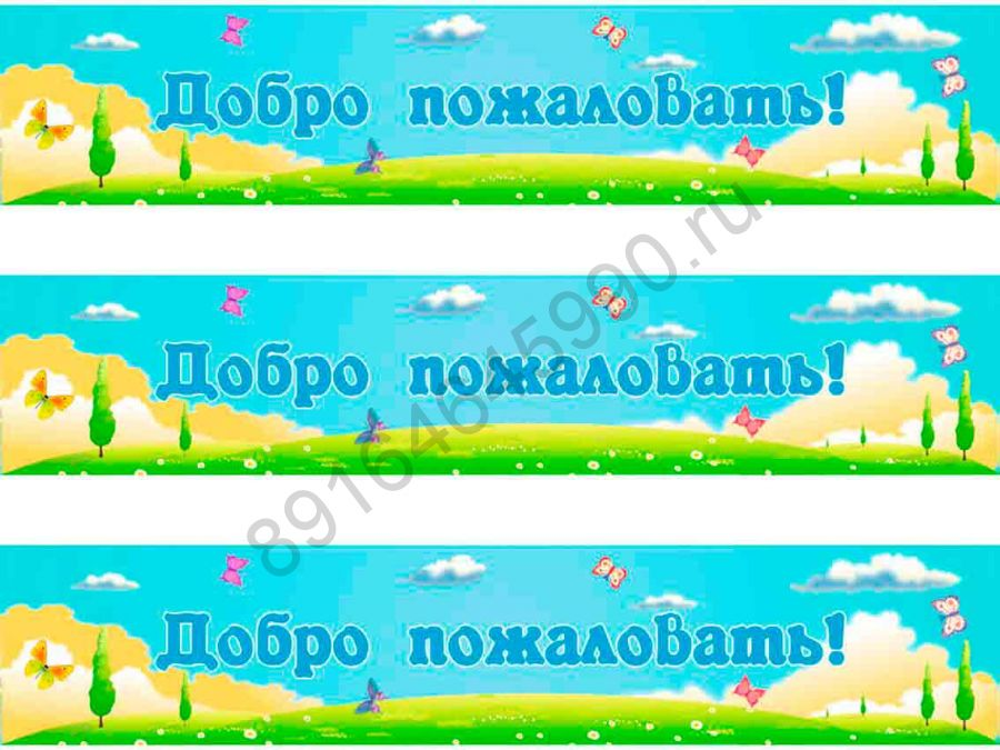 Баннер, артикул 160803