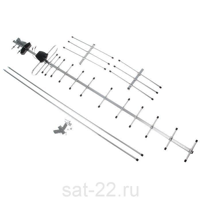 Наружная Антенна ТВ «BAS-1334-USB Диапазон Макси