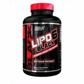EU Lipo-6 Black (Nutrex) 120 капс. Новая формула.