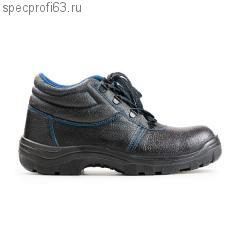 Ботинки кожаные ПУ с металическим подноском