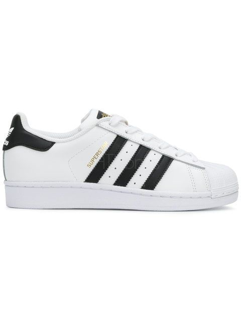 adidas Originals Superstar white/gold/black