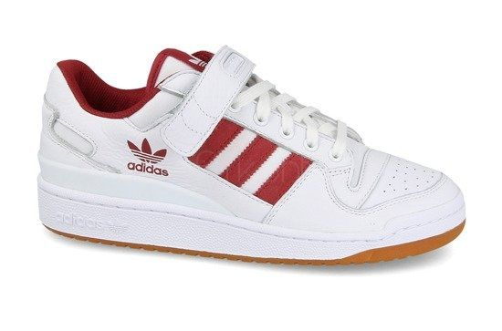 Adidas Forum Low white red