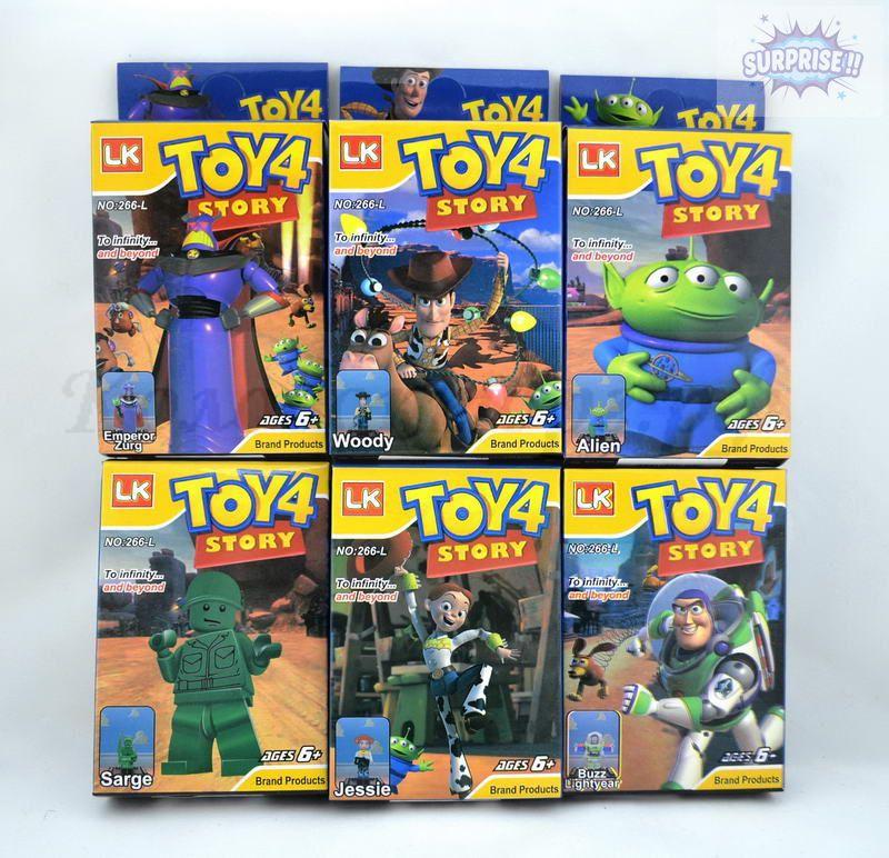 Конструктор LK-Toy Story 4 фигурка (№266-L)