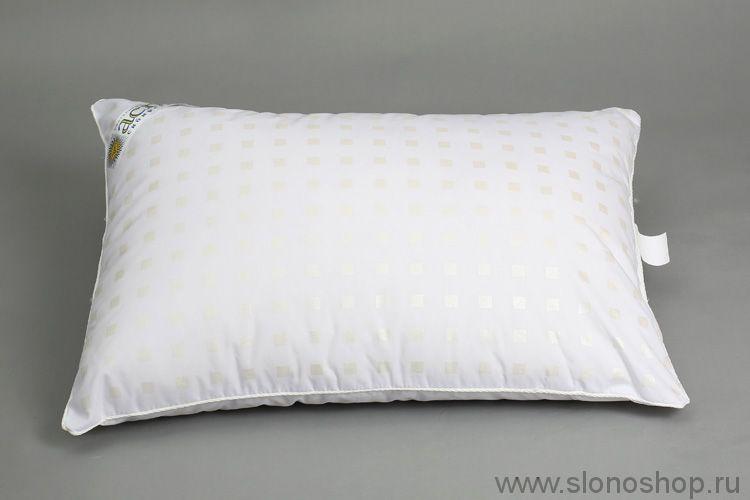 Подушка ЛТ 50х70 (микроволокно п/э, тик, кант)