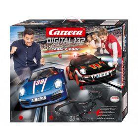 Автотрек Carrera digital 132 - Family Race 30199
