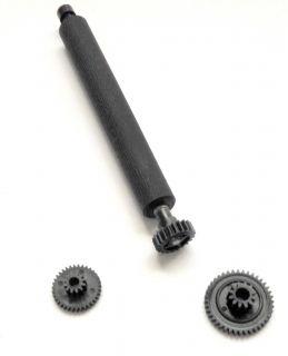 Комплект пластиковых шестеренок (2 шт. + прижимной вал) для термопринтера для NEWPOS 8210